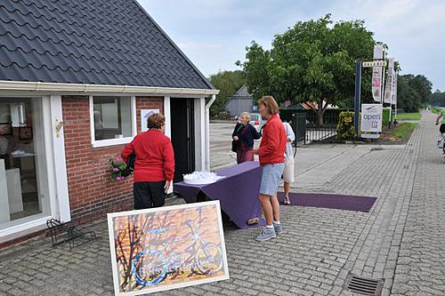 Fietsvierdaagse doet Galerie Huis ter Heide aa